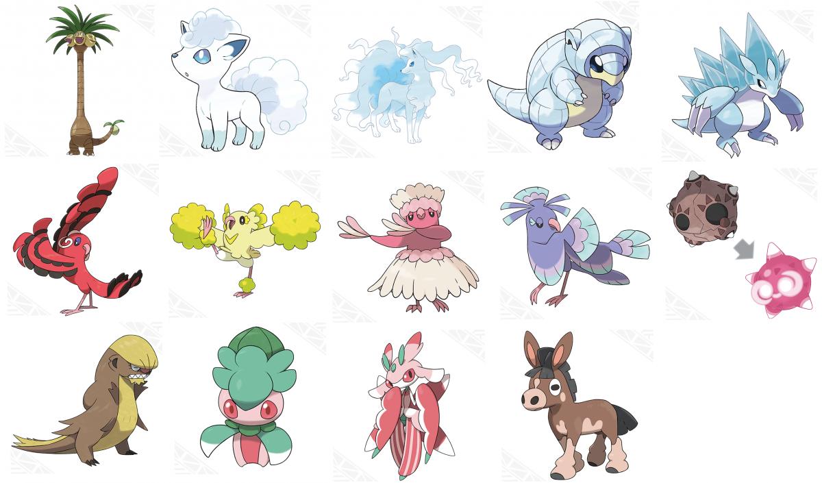 Zahlreiche neue details und pok mon zu pok mon sonne for Boden pokemon