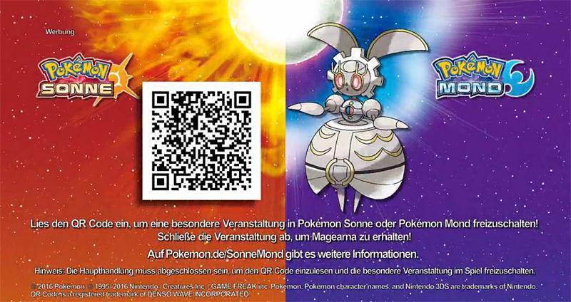 event magearna für pokémon sonne  mond  monokai