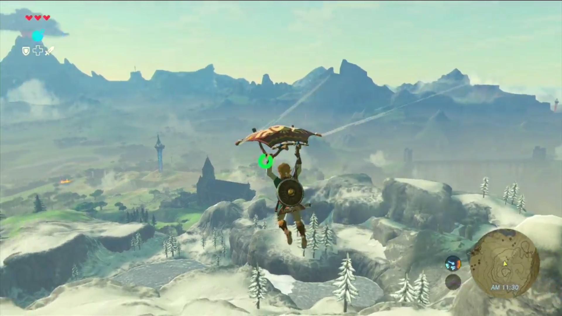 Paragleiter In Zelda Breath Of The Wild